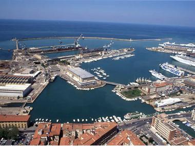 Porto di Livorno Toscane