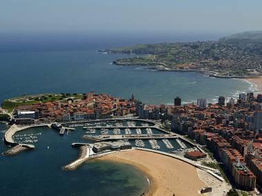 Puerto Deportivo de Gijón Asturies