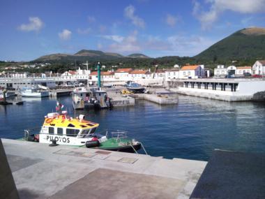 Porto de Pesca da Praia da Graciosa Açores