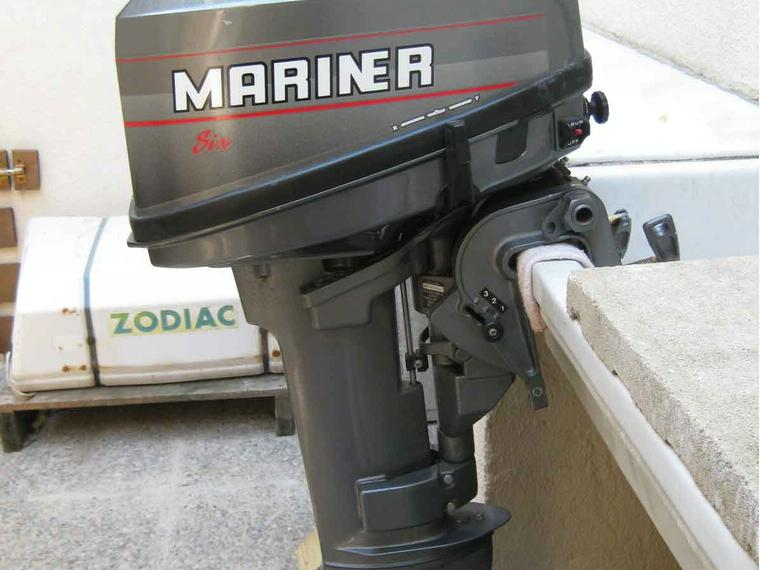 fueraborda mariner 6 cv 2t de seconde main 67516