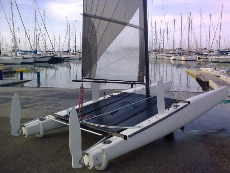 classe a en port ol mpic catamarans voile d 39 occasion 55515 inautia. Black Bedroom Furniture Sets. Home Design Ideas