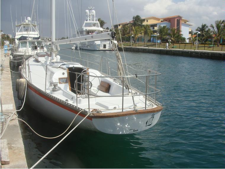 morgan 45 en reste du monde voiliers d 39 occasion 69565. Black Bedroom Furniture Sets. Home Design Ideas